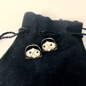 Marc by Marc Jacobs Miss Marc Ugly Girl Earrings